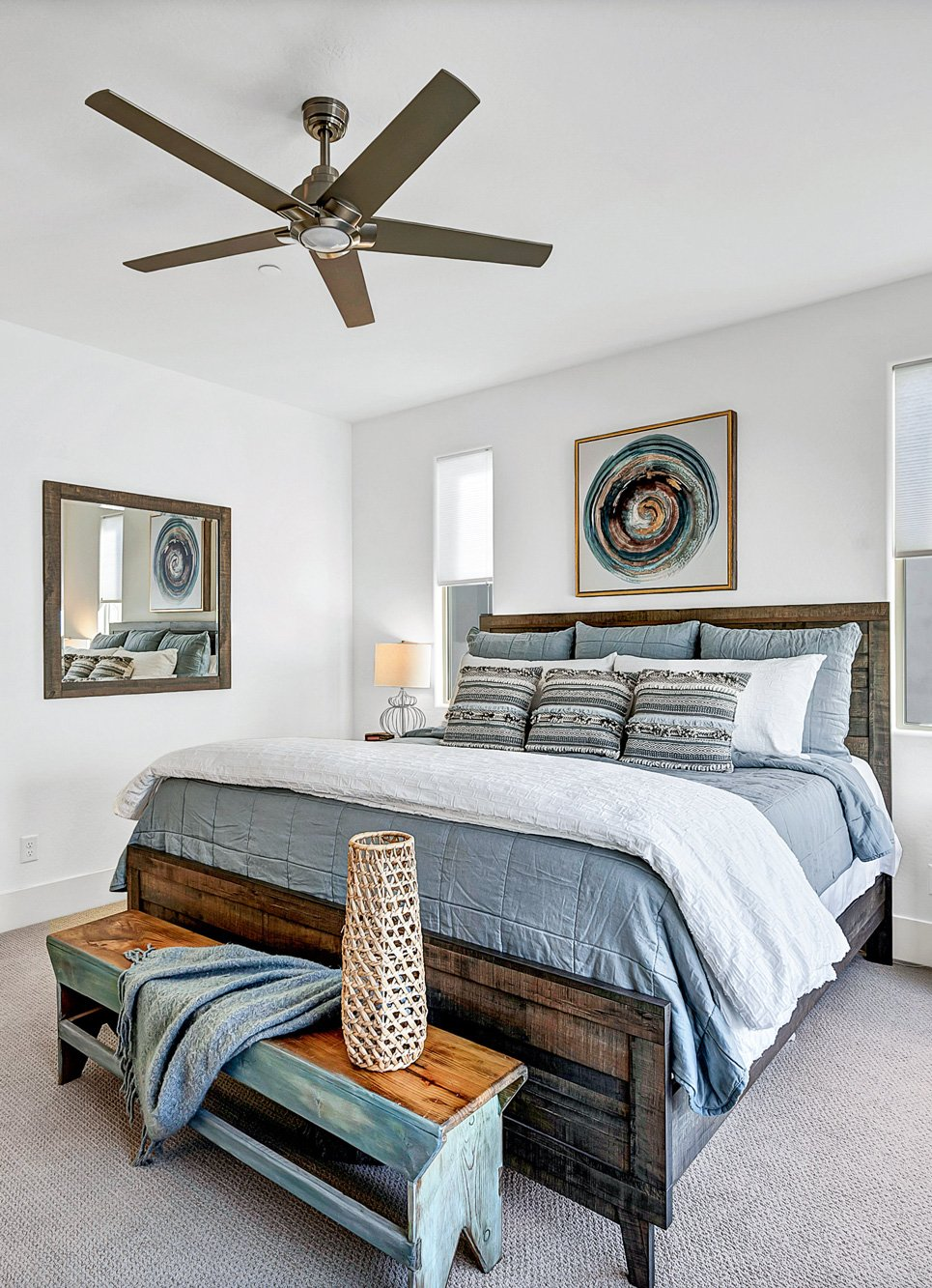 Bedroom Blue Photo