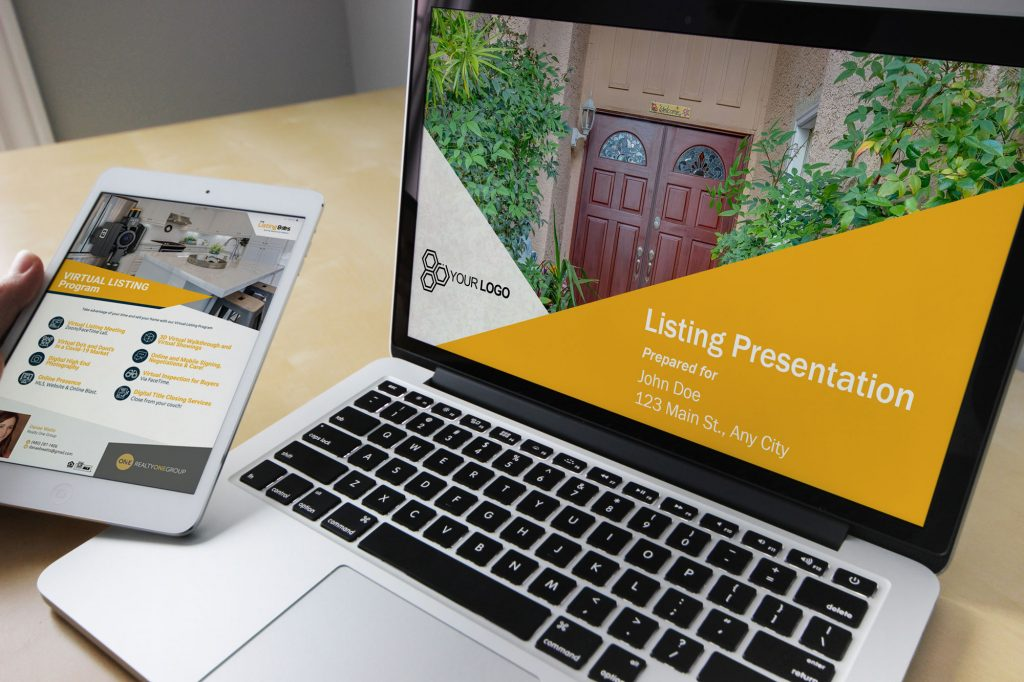 Laptop and Tablet Listing Presentation