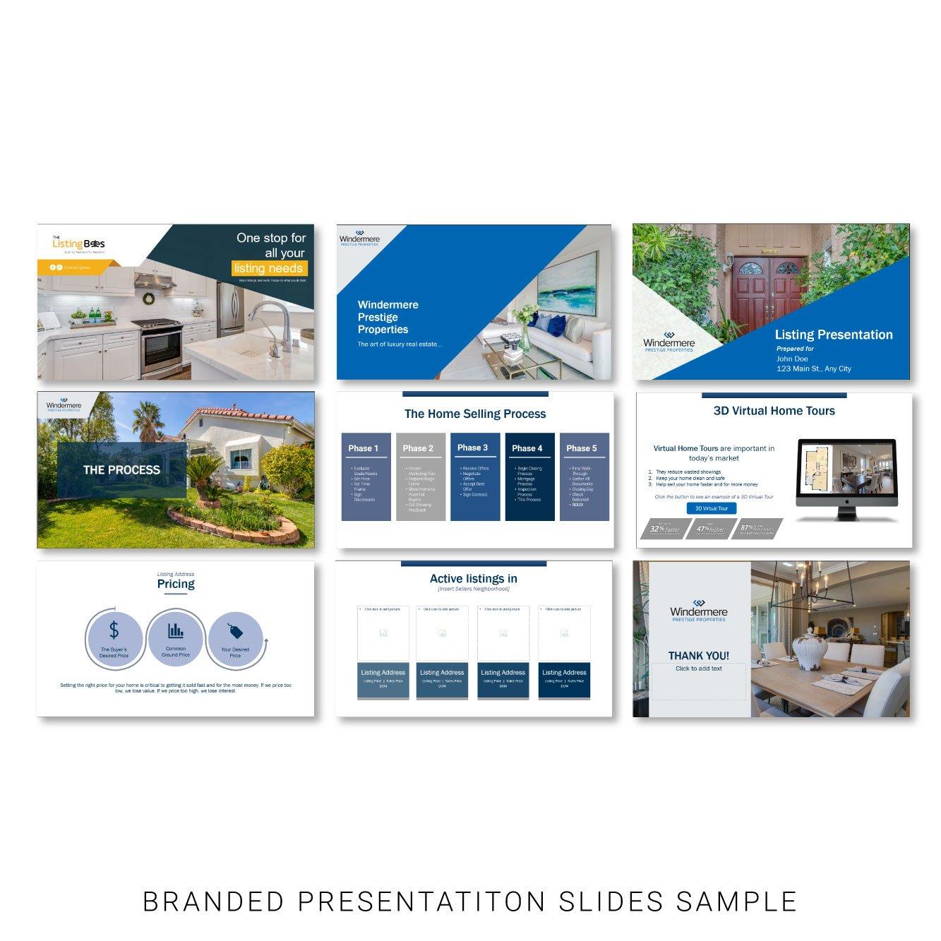 Listing Presentation Flyer