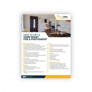 Home Ready Photoshoot flyer