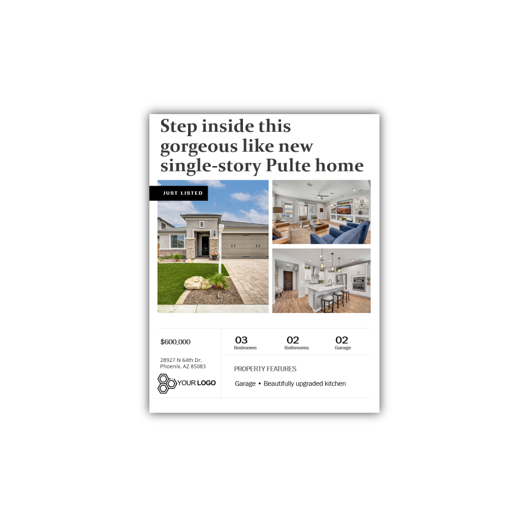 Sample Editable Flyer